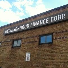 Photo taken at Neighborhood Finance Corp by Ashley S. on 12/11/2012