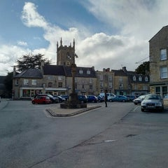Photo taken at Stow-on-the-Wold by DTourist F. on 3/27/2016