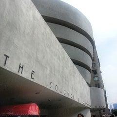 Photo taken at Solomon R. Guggenheim Museum by Matt S. on 7/28/2013