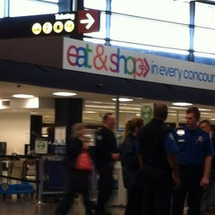 Photo taken at TSA Checkpoint C by Pam H. on 11/8/2012