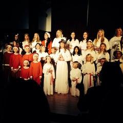 Photo taken at Swedish American Hall by Katrina Y. on 12/9/2013
