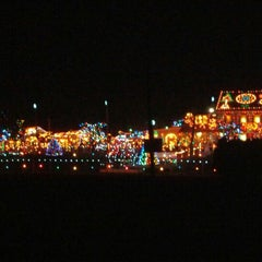 Photo taken at Koziar's Christmas Village by Jenn C. on 12/24/2012