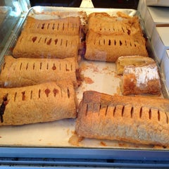 Photo taken at Helmut's Strudel by Nancy K. on 8/9/2014