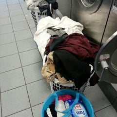 Photo taken at Super Bright 24 Hour Laundromat by Marcie K. on 1/6/2013