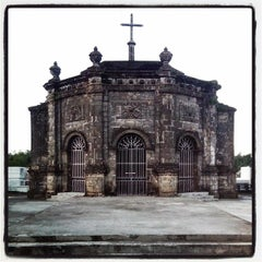 Photo taken at Cabatuan Public Cemetery by Estan l. on 1/27/2014