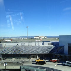 Photo taken at SFO AirTrain by Shaun H. on 1/14/2013