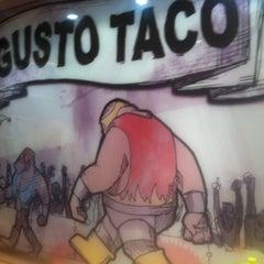 Photo taken at Gusto Taco by Sayel C. on 5/12/2013