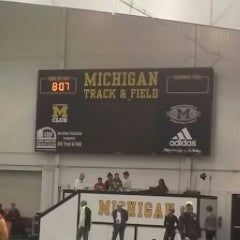 Photo taken at Michigan Indoor Track Building by Scott J. on 2/21/2015