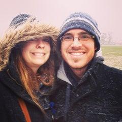 Photo taken at Dundonald Recreation Ground by Sarah O. on 1/18/2013
