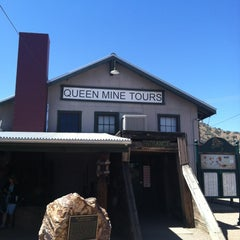 Photo taken at Queen Mine Tours by Alana H. on 4/6/2013