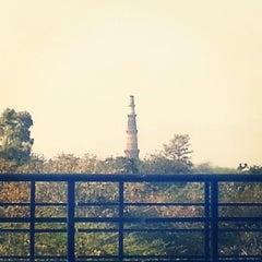 Photo taken at Qutab Minar Metro Station by Swetansu M. on 3/7/2014