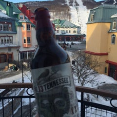 Photo taken at Le Westin Resort & Spa, Tremblant, Quebec by Todd B. on 3/18/2015