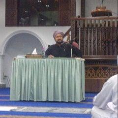 Photo taken at Masjid Al-Mukminun by Jaafar W. on 6/29/2012
