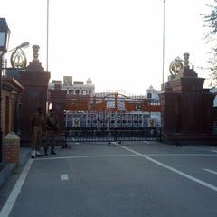 Photo taken at Wagah Border - India Pakistan Border by Thierry L. on 9/26/2012