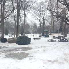 Photo taken at Memorial Park Playground by Peter D. on 2/26/2014