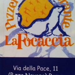 Photo taken at La Focaccia by Mark H. on 11/6/2013