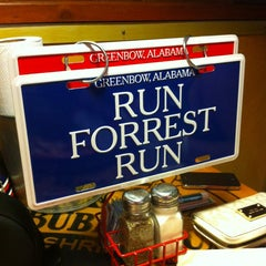 Photo taken at Bubba Gump Shrimp Co. by Ivan V. on 4/15/2013