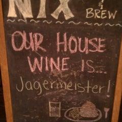 Photo taken at NIX Burger & Brew by Dave B. on 10/30/2012