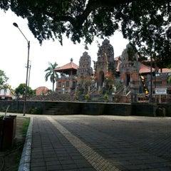 Photo taken at Panggung Terbuka Balai Budaya Gianyar by ghana w. on 12/31/2012