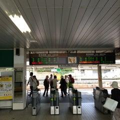 Photo taken at 金谷駅 (Kanaya Sta.) by ysbay98 m. on 5/26/2013