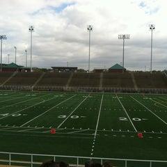 Photo taken at Seacrest Field by Nikki B. on 10/13/2012