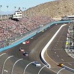 Photo taken at Phoenix International Raceway by Patrick L. on 11/11/2012