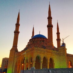 Photo taken at Mohammed Al-Amin Mosque by Mighty T. on 11/9/2014