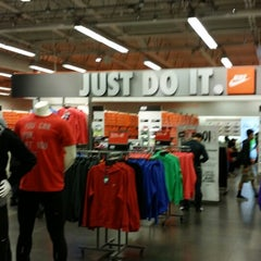 Photo taken at Nike Factory Store by Robert K. on 1/5/2014