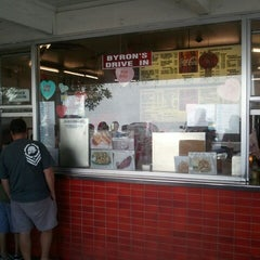 Photo taken at Byron's Drive-In by Robert K. on 2/28/2013