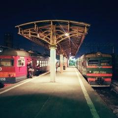 Photo taken at Савеловский вокзал / Savyolovsky Rail Terminal by Alexander I. on 2/24/2013