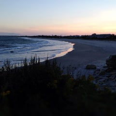 Photo taken at Scarborough State Beach by C.J. B. on 9/26/2012