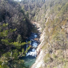 Photo taken at Tallulah Gorge State Park by Mischandra S. on 3/5/2013