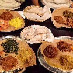 Photo taken at Lalibela Ethiopian Restaurant by Lalibela Ethiopian Restaurant on 10/24/2014