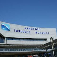 Photo taken at Aéroport Toulouse-Blagnac (TLS) by Domingos A. on 2/13/2013