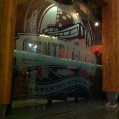 Photo taken at Central City Brew Pub by Adam H. on 11/29/2012