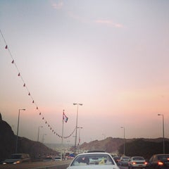 Photo taken at Qurum Darsait Bridge by Priyam C. on 11/4/2013