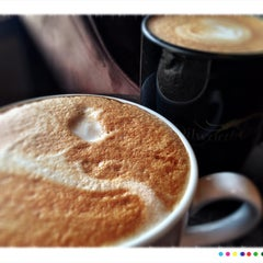 Photo taken at Dilworth Coffee House - The Original by Mark H. on 3/14/2014