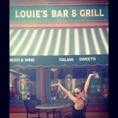 Photo taken at Louie's Italian Restaurant by Danielle O. on 4/12/2013