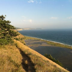 Photo taken at Ebey's Landing by Charles S. on 7/9/2012