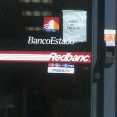 Photo taken at BancoEstado by César L. on 10/14/2013