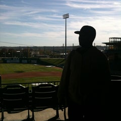 Photo taken at Dozer Park by Theresa C. on 10/11/2012