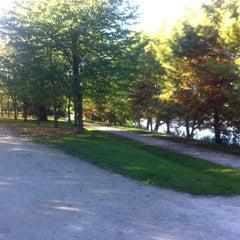 Photo taken at Lac de Lognes by Vincent A. on 10/28/2012