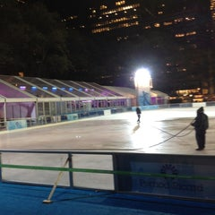 Photo taken at Bank of America Winter Village at Bryant Park by Ajay Y. on 11/5/2012