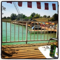 Photo taken at Dunaharaszti Wakeboard by Mzso on 7/24/2013