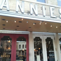 Photo taken at Annies Café & Bar by Wesley F. on 2/21/2013