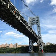 Photo taken at George Washington Bridge by Scott L. on 8/15/2013