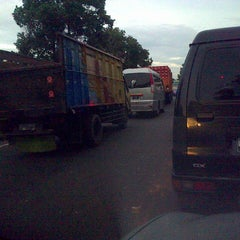 Photo taken at Gerbang Tol Cibitung by Hendy L. on 1/6/2014