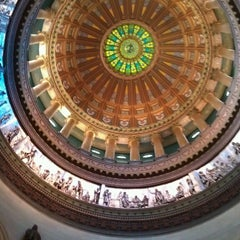 Photo taken at Illinois State Capitol by Matt R. on 6/27/2013