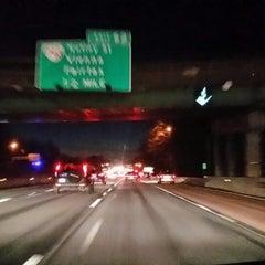 Photo taken at I-66 - Arlington / Fairfax County by Rami A. on 2/19/2014