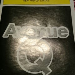 Photo taken at Avenue Q by michele m. on 2/14/2015